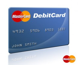 Types of debit card